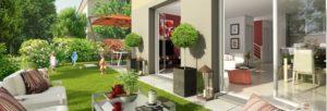 Duplex-jardin