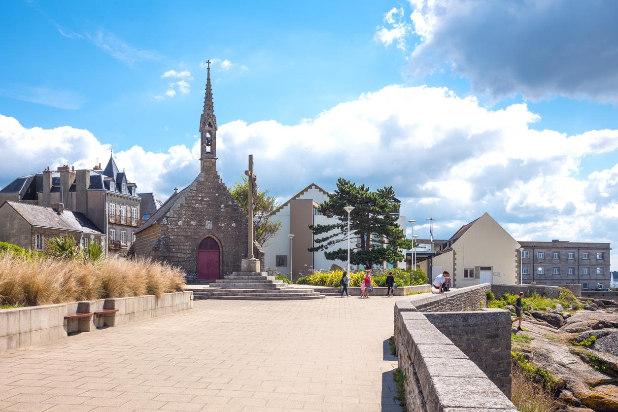 Le centre du village de Concarneau