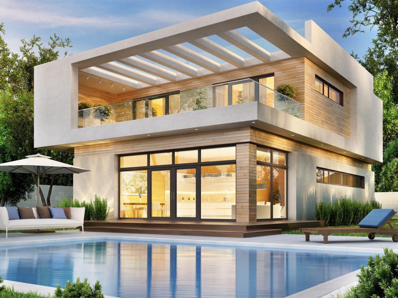 une villa de luxe